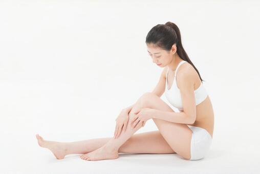 Female 1 to massage