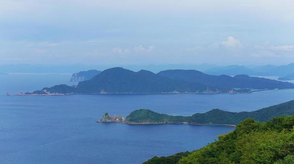 야마구치 현 나가토시 센 조우 지키에서 원하는 나가토시 青海島