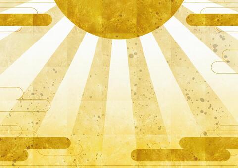 Gold foil background 5