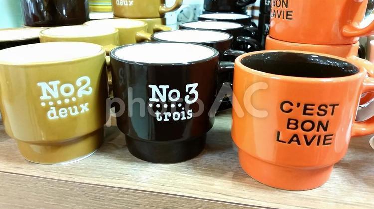 セリアのマグカップの写真