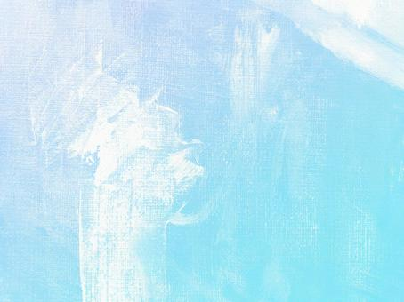 Oil on canvas Sky blue [Blue light blue background material Summer Bright, energetic and refreshing texture art]