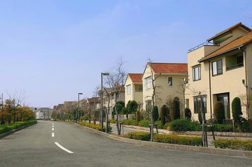 Road and residential area 5