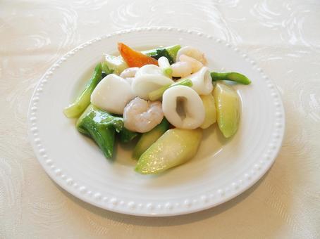 중국 요리 (해산물 8 보물 요리)
