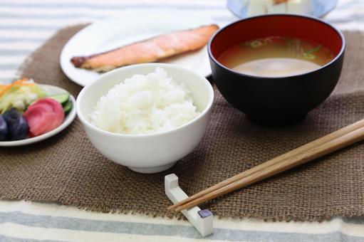 Simple Japanese set menu 2