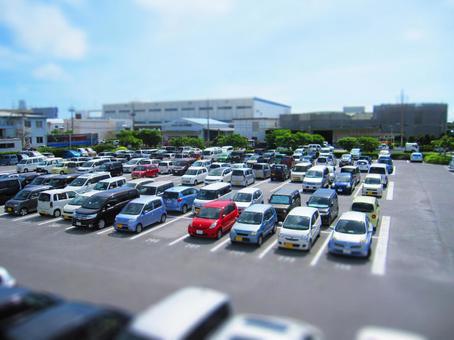 Parking place · Miniature style