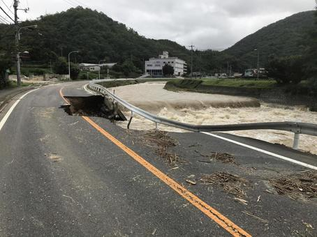 Western Japan heavy rain disaster 2
