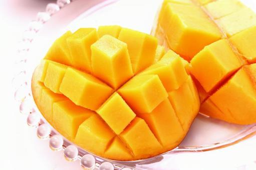 Cut mango 8