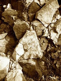 岩石皮(棕褐色)