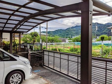 Cargate and carport