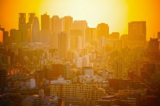 Dusk of Shinjuku