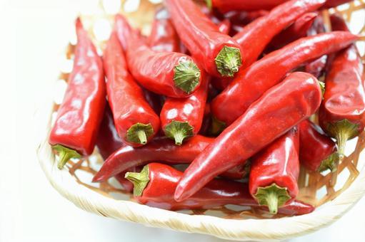 新鮮的韓國辣椒,未加工的韓國辣椒