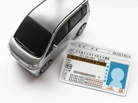 Minicar and driver's license