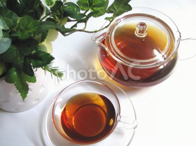 ティータイム 紅茶の写真