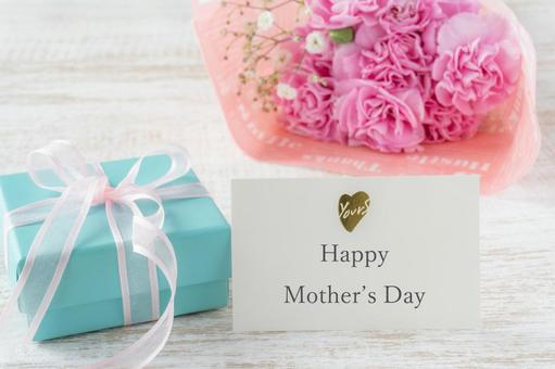 Mother's Day Pink Carnation Bouquet and Gifts
