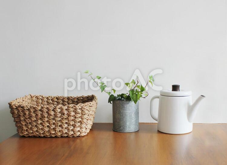 シンプルな雑貨の写真
