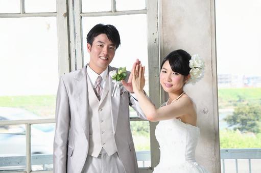 Bride and bridegroom 1
