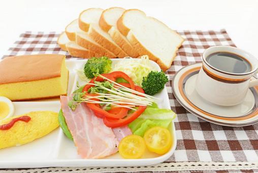 맛깔스런 아침 식사