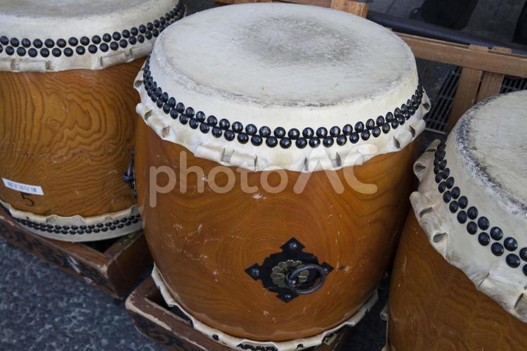 祭りの太鼓2の写真