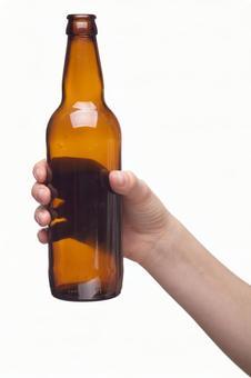 Hand pose bottle 1