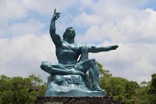 長崎縣長崎市和平紀念雕像006