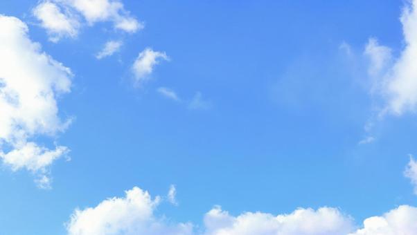 Sky refreshing light blue sky copy space background wallpaper