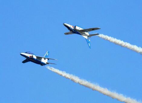 Saitama Prefecture, Iruma Air Base, Blue Impulse
