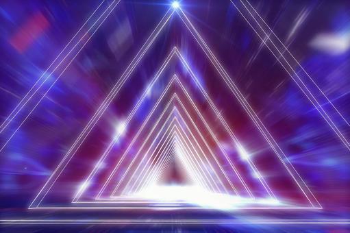 Triangular tunnel