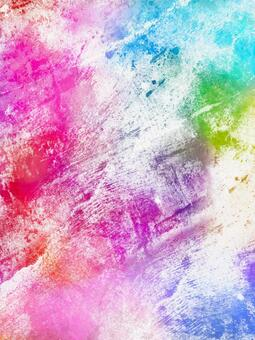 Watercolor picture Wallpaper Easy-to-use universal background Colorful No. 26