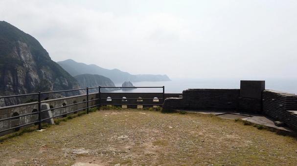 서해 국립 공원 오세 자키 등대 오도 열도 후쿠 나가사키 현