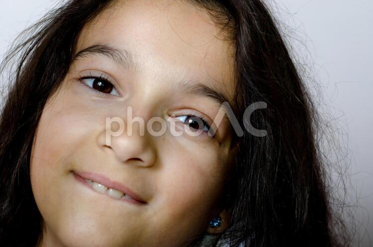 髪の長い女の子22の写真