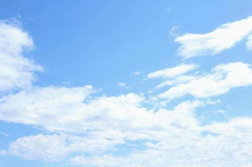 푸른 하늘 흰 구름 1