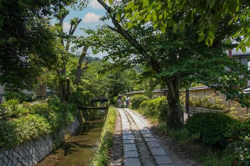 Kyoto-Philosophy Road and Lake Biwa Canal
