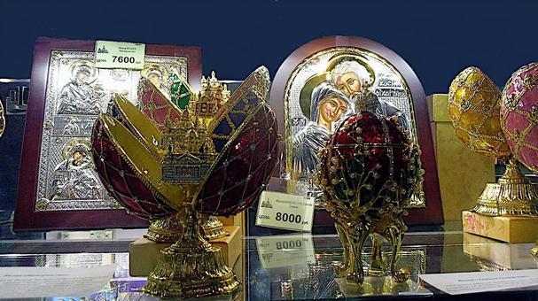 임페리얼 이스터 에그를 본뜬 기념품, 상트 페테르부르크