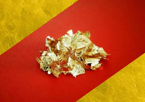 """Shining gold powder """"base red"""""""