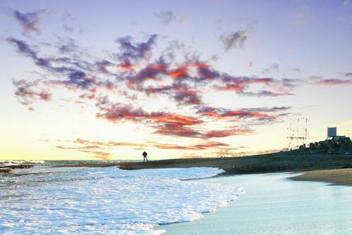 Sea / sunset