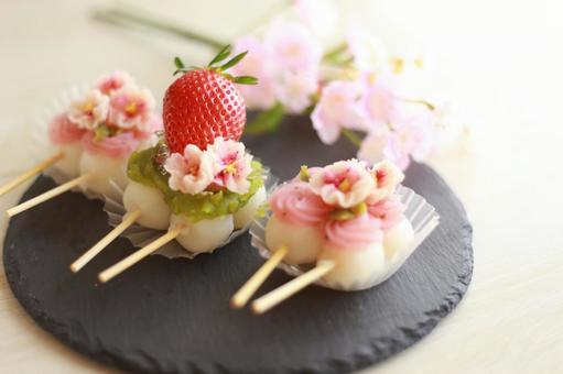 Flower dumpling