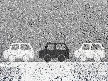 Car image 3 running on the road 3