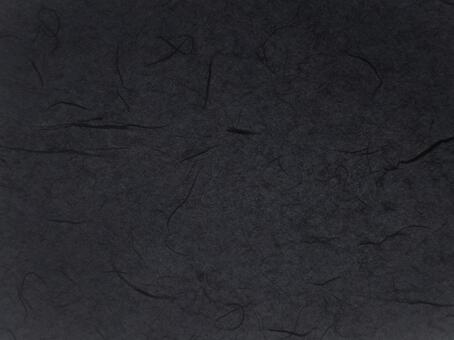 Black Japanese paper texture background material