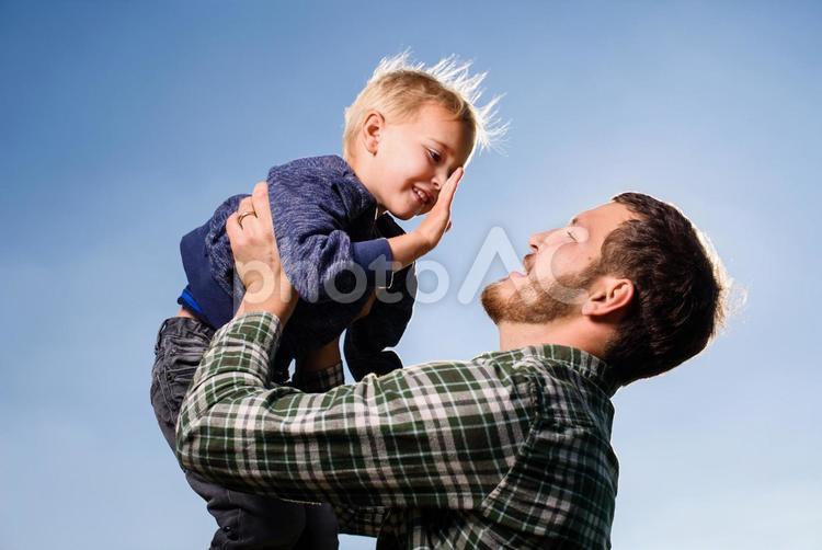 俺と息子4の写真