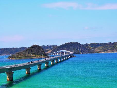 A beautiful sea (Kakushima Ohashi)
