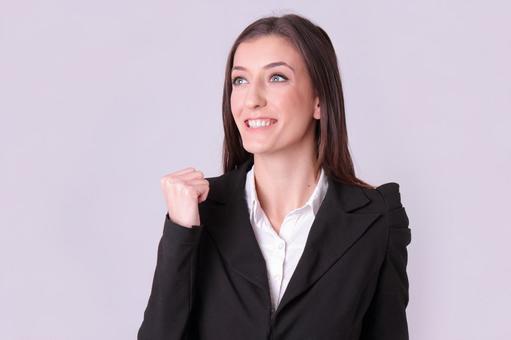 Foreign women's suit figure 4
