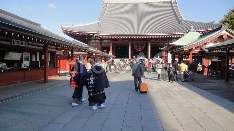 浅草寺の写真