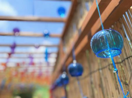 Summer tradition, wind chimes