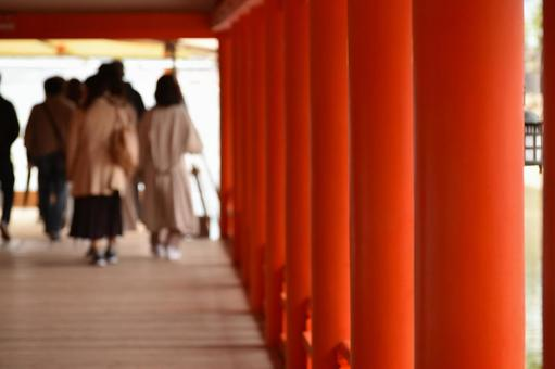미야지마 | 이쓰 쿠시마 신사의 신전 회랑