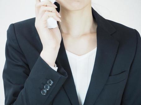 전화를 비즈니스 여성 9