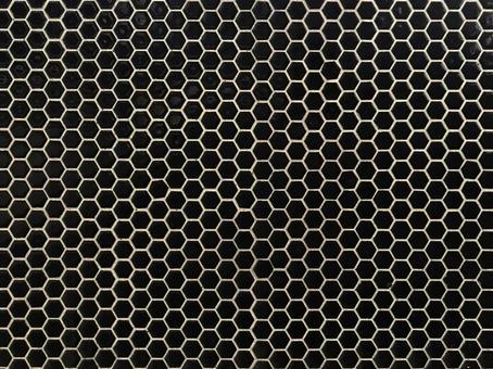 Background material black tile pattern
