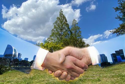 Handshake naturally