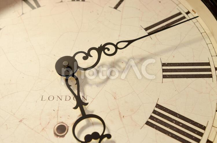 アンティークな時計の写真