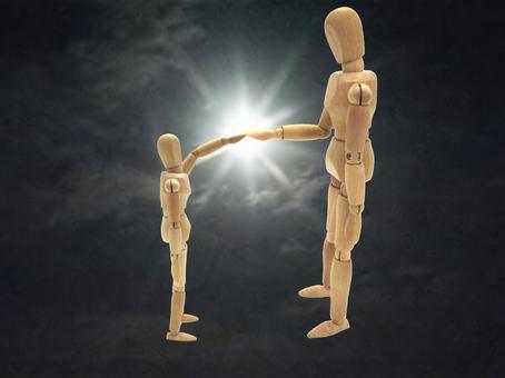 Each other through