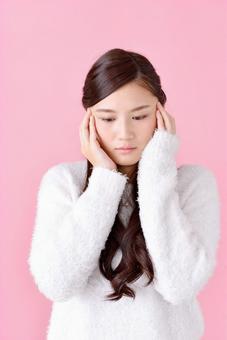 Worried lady 5